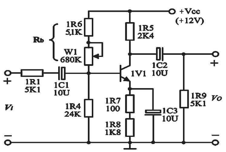 如: 通过偏置电阻的设定需要运用到三极管各个区域的工作特性, 需要